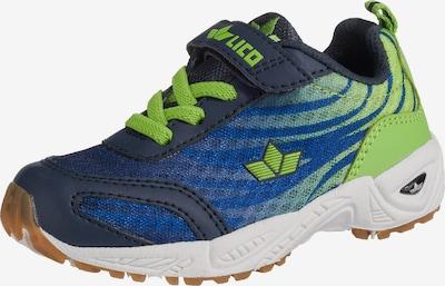 LICO Sportschuhe 'Ben VS' in blau / hellgrün, Produktansicht