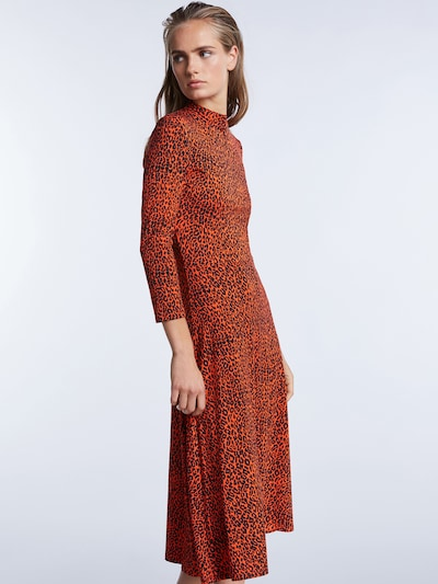SET Kleid in rot: Frontalansicht