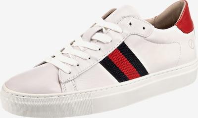 Paul Vesterbro Sneakers Low in rot / schwarz / weiß, Produktansicht