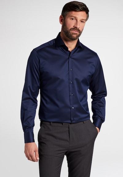 ETERNA Zakelijk overhemd in de kleur Blauw / Donkerblauw: Vooraanzicht