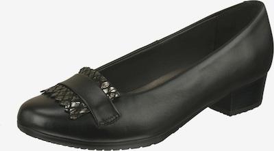 Lei by tessamino Pumps Adelma aus Rinds- und Ziegenleder in braun / schwarz, Produktansicht