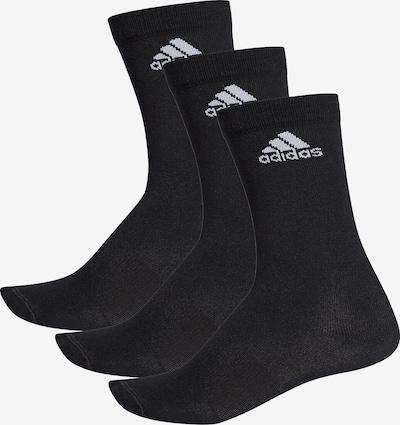 ADIDAS PERFORMANCE Socken 'Pre Crew T' in schwarz / weiß, Produktansicht
