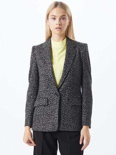 DRYKORN Blazer 'Atlin' in grau / schwarz, Modelansicht