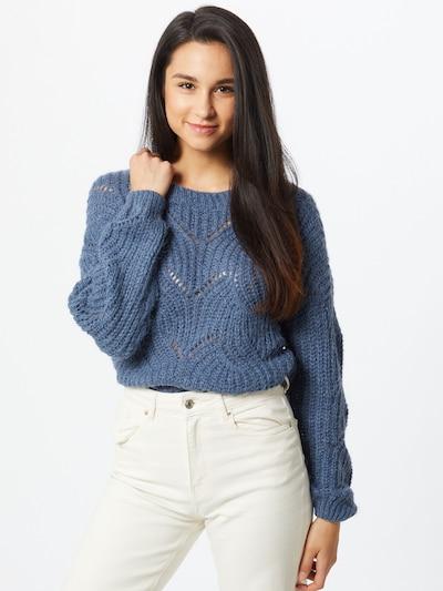 ONLY Pullover 'HAVANA' in blau, Modelansicht