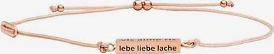 Julie Julsen Armband in rosegold, Produktansicht