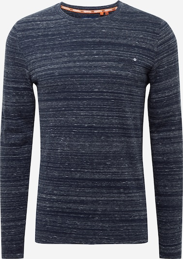 Superdry Majica | bež / nočno modra barva, Prikaz izdelka