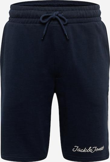 JACK & JONES Spodnie 'Range' w kolorze ciemny niebieski / białym, Podgląd produktu