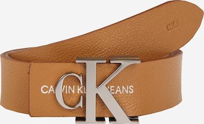 barna / ezüst Calvin Klein Jeans Övek 'GYM CLASS MONO 30MM', Termék nézet