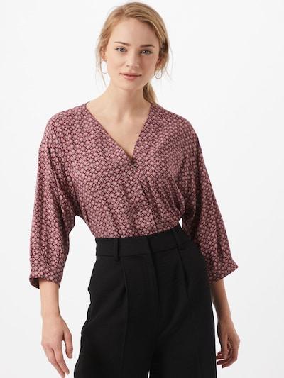 Esprit Collection Bluse in mischfarben / bordeaux, Modelansicht