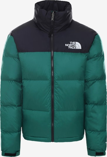 THE NORTH FACE Winterjas '1996 Retro Nuptse' in de kleur Donkerblauw / Groen, Productweergave