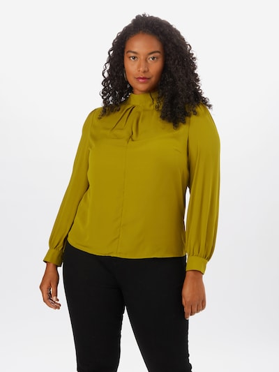 Guido Maria Kretschmer Curvy Collection Bluse 'Luana' in schilf, Modelansicht