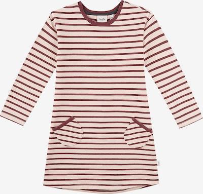 SANETTA Kleid in kastanienbraun / pastellpink, Produktansicht
