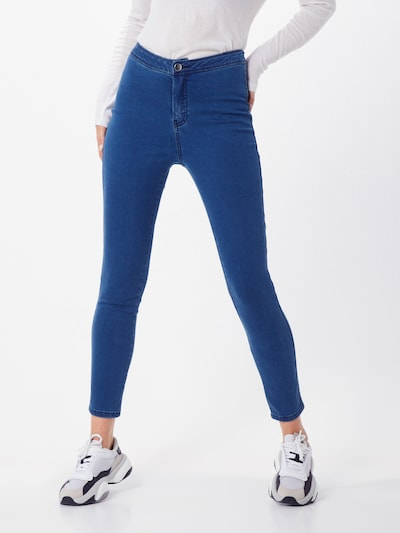 ABOUT YOU Jeggings 'Cornelia' en bleu denim, Vue avec modèle