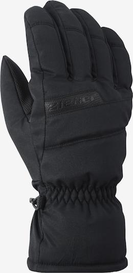 ZIENER Handschuhe 'Gramus' in schwarz: Frontalansicht
