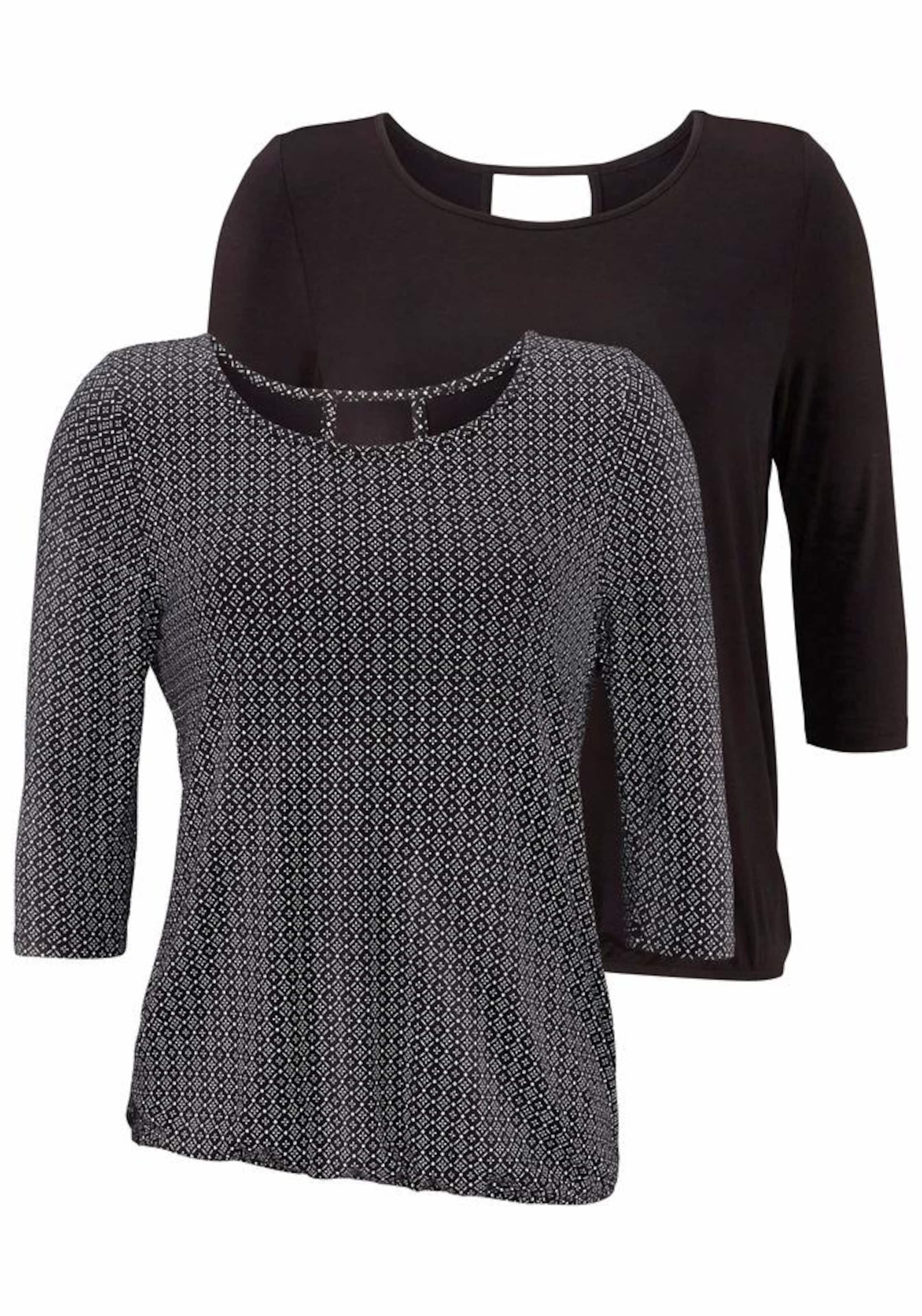 LASCANA ¾ Shirt (2 Stück) Freies Verschiffen Verkauf Günstig Kaufen Brandneue Unisex hdkOZSCaV