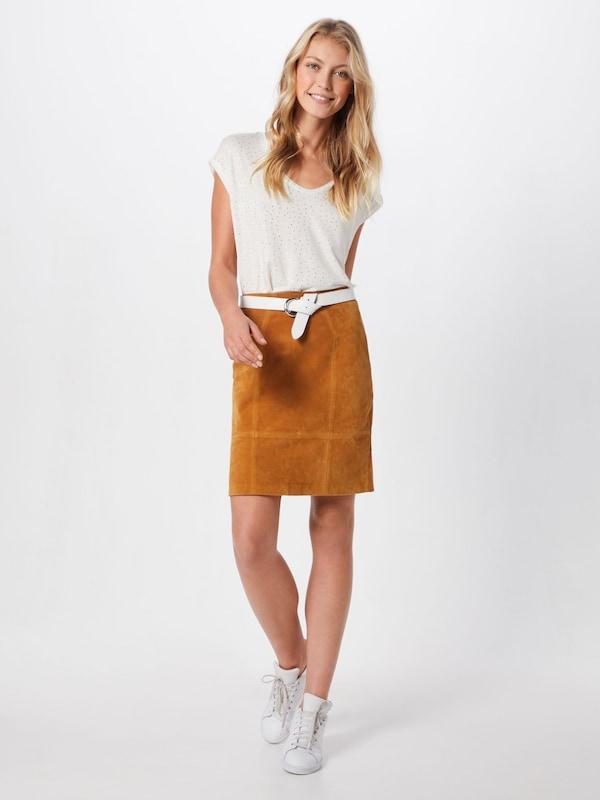 Tee' Pieces 'pcbilly En T Ssaop shirt Foil Blanc Dot shrQdxtC