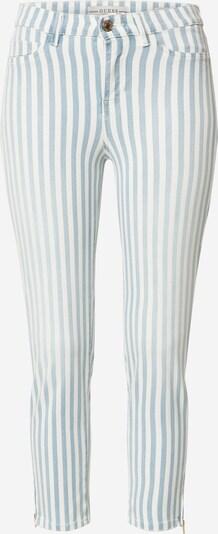GUESS Hose '1981 CAPRI' in blau / weiß, Produktansicht