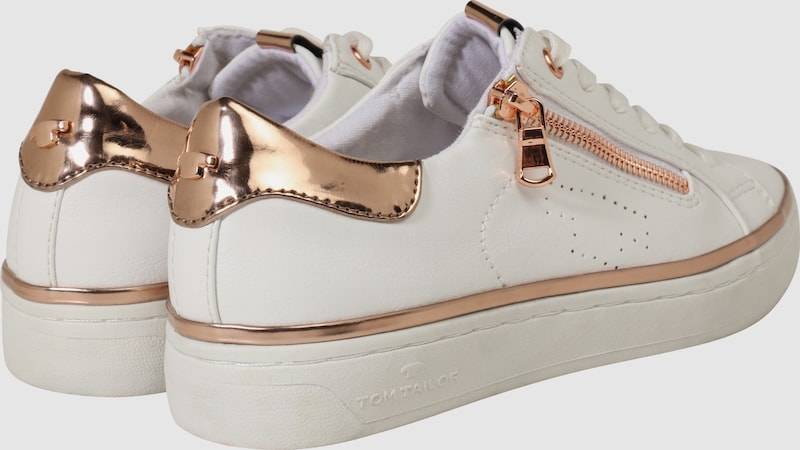TOM TAILOR Sneaker mit Zipper