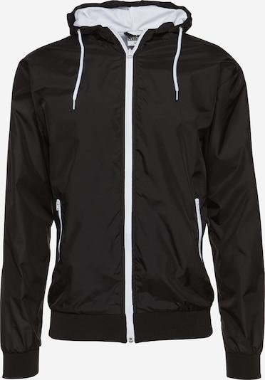Urban Classics Přechodná bunda 'Contrast Windrunner' - černá / bílá, Produkt
