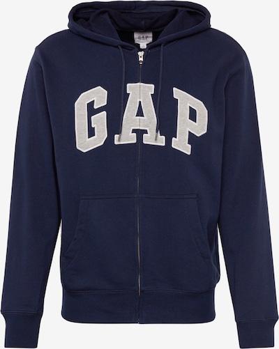 GAP Bluza rozpinana 'XLS FT ARCH FZ HD' w kolorze granatowy / białym, Podgląd produktu