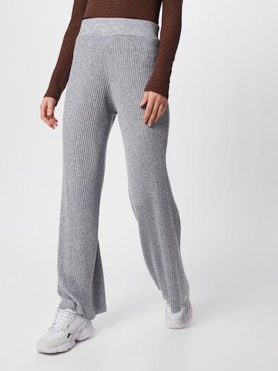 Neo Noir Hose 'Aubrey Knit Pants' in hellgrau, Modelansicht