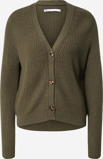 ONLY Cardigan 'Jennie' in khaki, Produktansicht