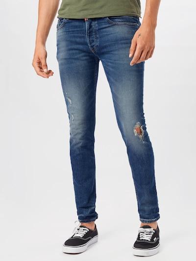 tigha Jeans 'Morten' in blue denim, Modelansicht
