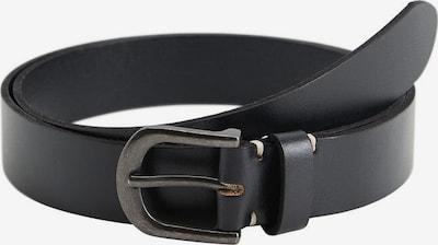 MANGO MAN Gürtel 'Ivan' in schwarz, Produktansicht