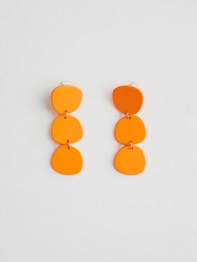 EDITED Oorbellen 'Hillerod' in de kleur Sinaasappel: Vooraanzicht