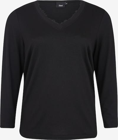 Zizzi Shirt 'MLUCCA' in schwarz, Produktansicht