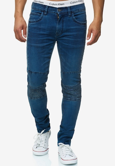 INDICODE JEANS Jeans 'Ashbridge' in blue denim: Frontalansicht