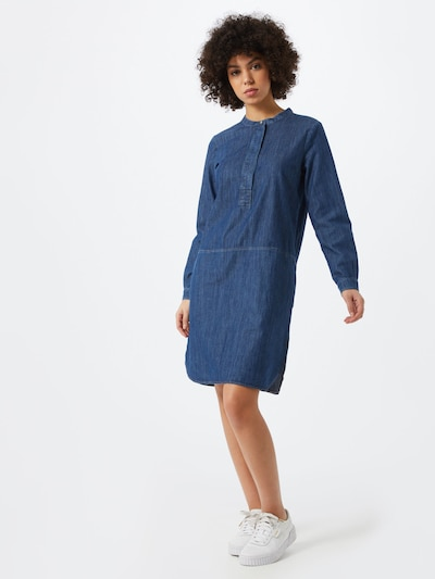 Cartoon Kleid in blue denim, Modelansicht