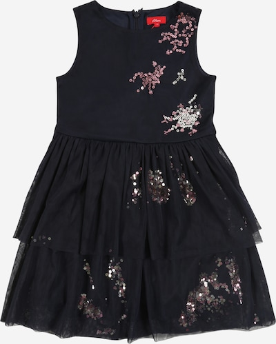 s.Oliver Junior Sukienka w kolorze ciemny niebieskim, Podgląd produktu