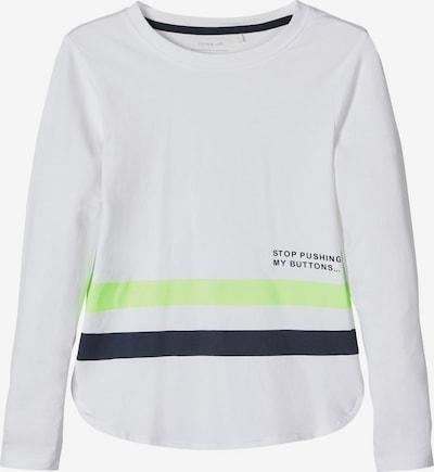 NAME IT Shirt in apfel / schwarz / weiß, Produktansicht