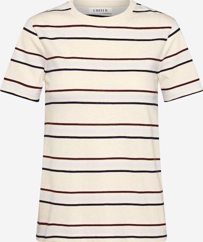 EDITED Shirt 'Leila' in beige / braun / weiß, Produktansicht
