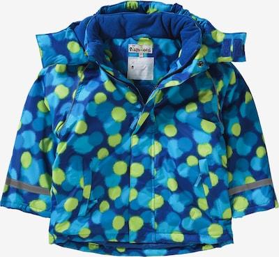 PLAYSHOES Skijacke für Jungen in blau / aqua / gelb, Produktansicht