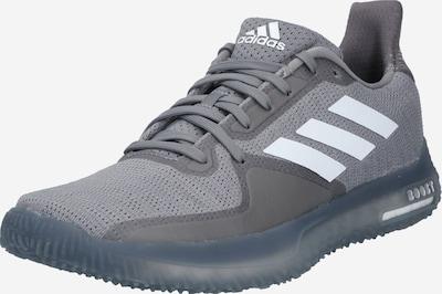 ADIDAS PERFORMANCE Chaussure de sport 'Trainer' en gris / blanc, Vue avec produit