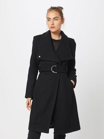 ABOUT YOU Manteau mi-saison 'Alma' en noir, Vue avec modèle