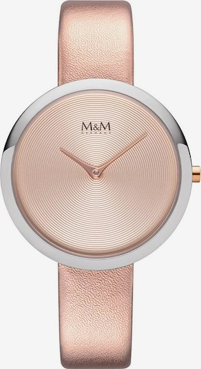 M&M GERMANY Quarzuhr 'Circle Line' in rosegold / silber, Produktansicht