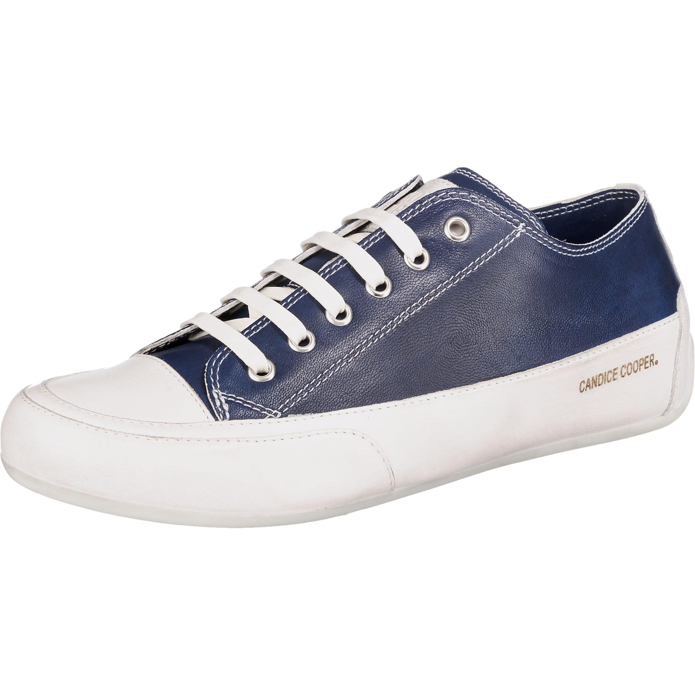 Candice Cooper Turnschuhe Low in nachtblau   weiß