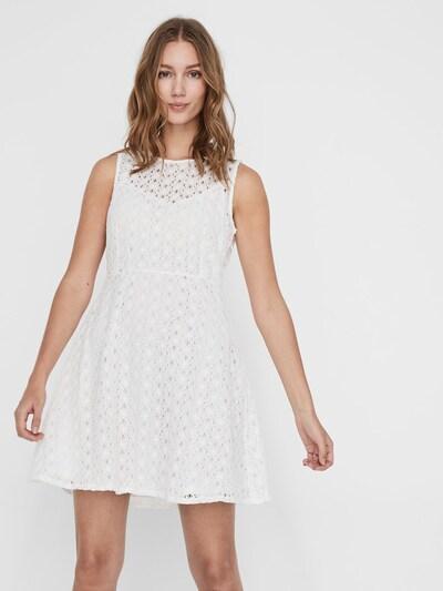 VERO MODA Kleid in weiß, Modelansicht