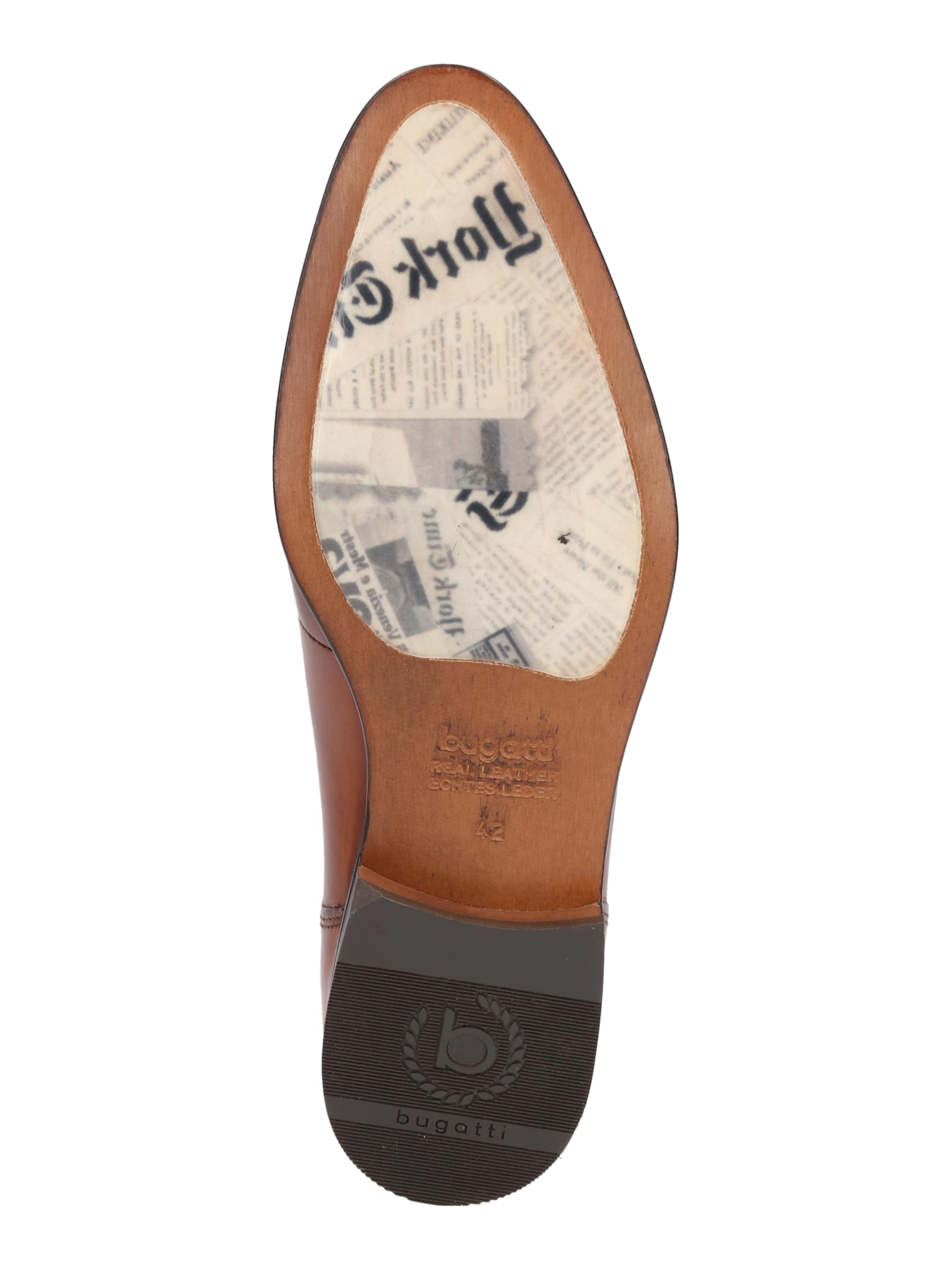 Bugatti Schnürschuh aus Leder Leder Billige Herren- Herren- Herren- und Damenschuhe aeae67