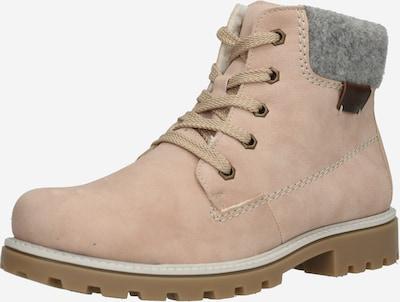 RIEKER Stiefel in graumeliert / puder, Produktansicht