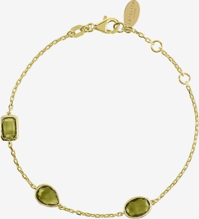 Latelita Armband in gold / grün, Produktansicht
