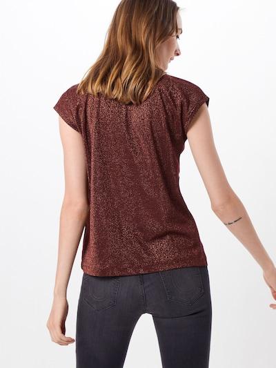 ONLY T-shirt en marron: Vue de dos