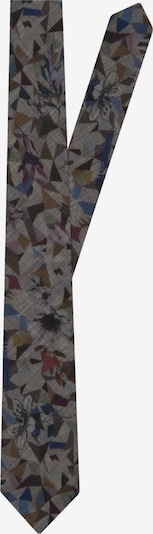 Jacques Britt Krawatte 'Custom Fit' in dunkelgrau / mischfarben, Produktansicht