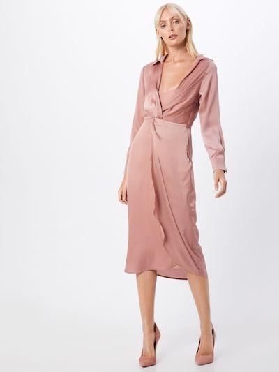 Rochie 'LADIES WOVEN DRESS' GLAMOROUS pe roz: Privire frontală