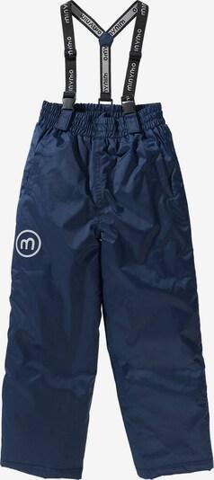MINYMO Skihose in blau / silber, Produktansicht