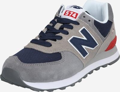 new balance Sneaker 'ML574 D' in dunkelblau / grau / rot, Produktansicht