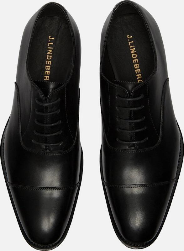 J.Lindeberg Hopper Italienische Zehenkappen-Kalb-Schuhe